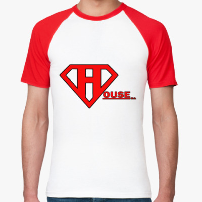 Футболка реглан SuperHouse