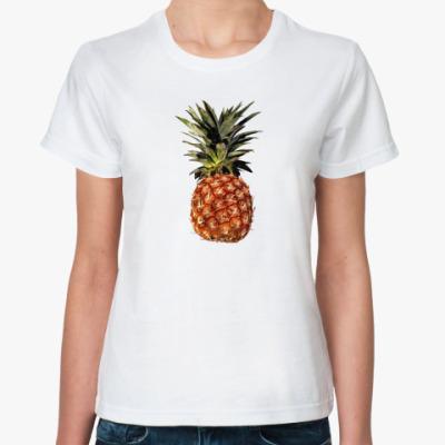 Классическая футболка ананас