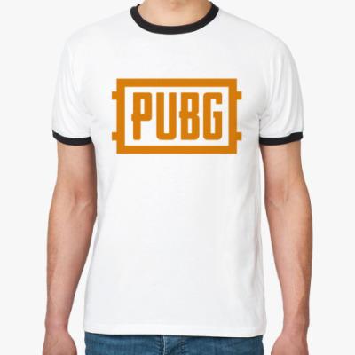 Футболка Ringer-T PlayerUnknown's Battlegrounds / PUBG (ПУБГ) [1]